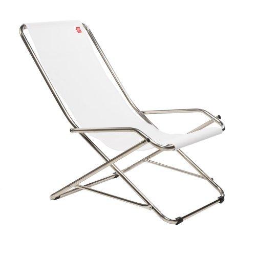 Jan Kurtz - Schwingsessel Fiam Dondolina - weiß - Design - Gartenliege - Sonnenliege - Pool -...