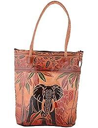 Generic Women's Cloth Material Normal Designer Hand Bag Multi Color