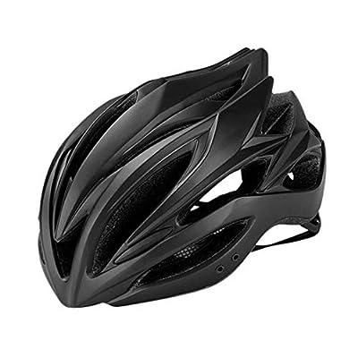 OLEEKA Cycling Bike Helmet with Visor, Cycle Helmet Men Women Teenagers Climb Race Skate Helmet, Black/Green/Pink/Blue from OLEEKA