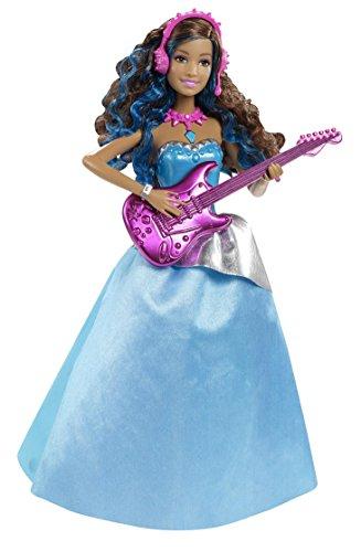 Barbie Mattel CMT04 - eine Prinzessin im Rockstar Camp - Erika mit Gitarre