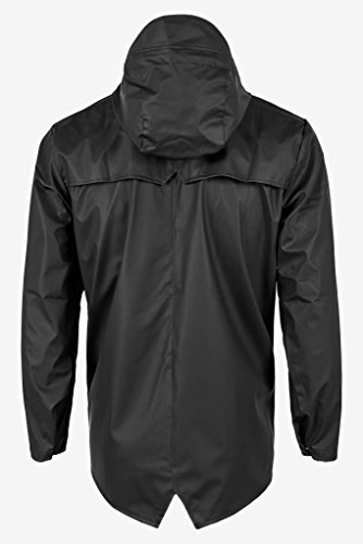 RAINS Jacket, Manteau Homme Black