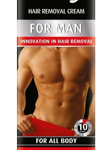 UOMO VANITY, crema depilatoria per uomo, in tutto il corpo ~ 10 minuti