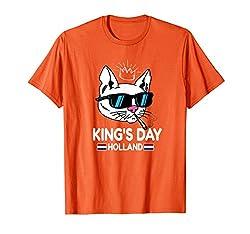 Holland King's Day Niederländische Flagge Marihuana T-Shirt
