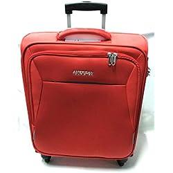 American Tourister 89725-4222 bolsa de equipaje Tranvía Negro, Rojo Poliéster - Bolsa de viaje (Tranvía, Negro, Rojo, Poliéster, 4 rueda(s), Cremallera, 1 pieza(s))