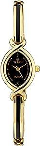Titan Raga Analog Black Dial Women's Watch - NE2251YM02