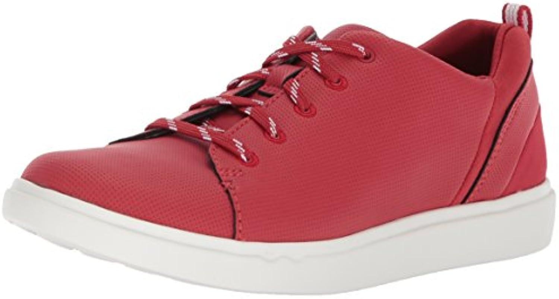 Clarks Clarks Clarks Wouomo Step Verve Lo. scarpe da ginnastica, rosso Perfed Microfiber, 7 Medium US | In Uso Durevole  | Scolaro/Ragazze Scarpa  f01f5e