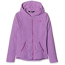 The North Face Mezzaluna Sweat-Shirt à Capuche Femme, Bellflower Purple, FR : S (Taille Fabricant : S)
