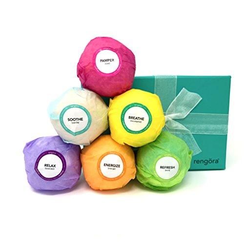 Bade Bomben Geschenk Set - Perfektes Geschenk für Frauen oder Mädchen im Teenageralter - zum Stressabbau & zur Entspannung