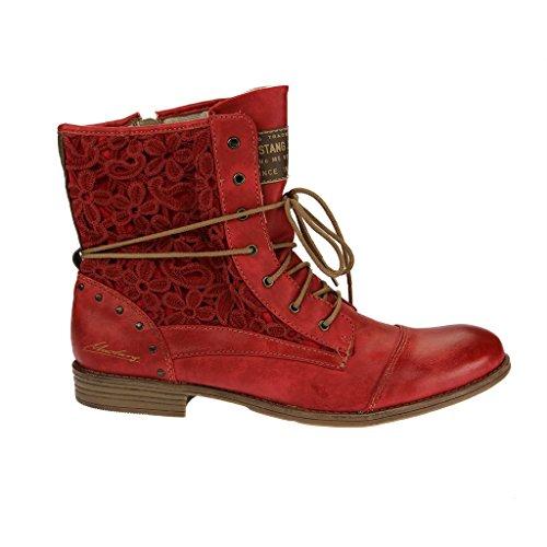 Mustang 1157527, Bottes Classiques Femme Rouge
