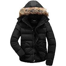 buy popular 5ea93 2447e Amazon.it: piumino con pelliccia uomo