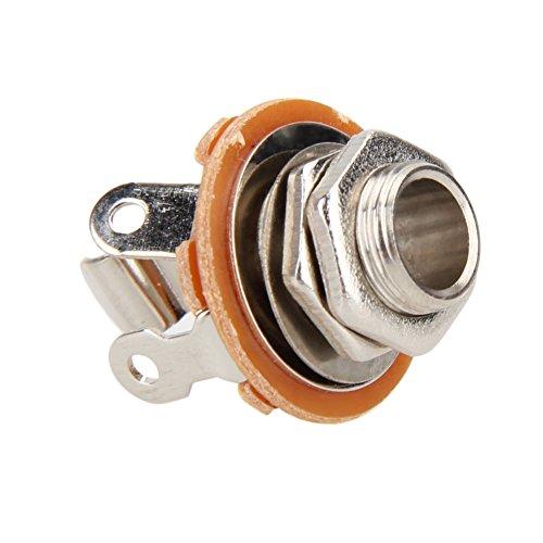 6.35 mm Jack 1/4 2-Dirigent Mono Chassis Guitar Jack Input Output Guitar Parts & Accessories Wholesale