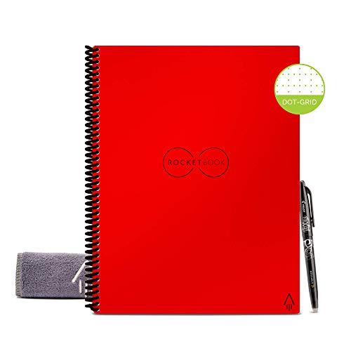 Rocketbook Diario - Planificador Semanal Cuaderno Digital Inteligente Borrable...