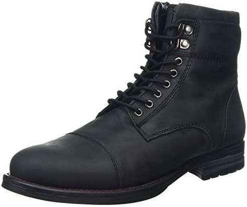 Joe Browns Must Have Oiled Leather Boots, Botas Militares para Hombre