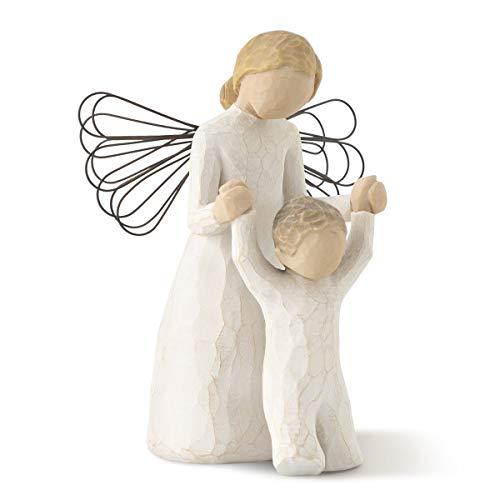 Willow tree 26034 angelo custode resina, design di susan lordi, 13 cm