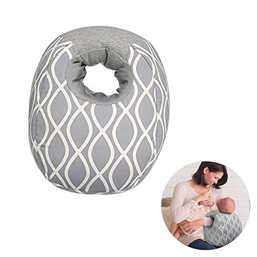 Coussin de soin pour bébé Coussin d'allaitement pour grossesse, coussin de couchage latéral, housse lavable: légère et silencieuse: bras de maintien et coude Doux et confortable