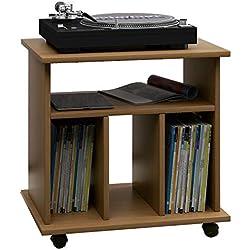 Mueble ESTANTERIA DE Madera MDF para ARCHIVAR 300 Discos DE Vinilo LP//Ref.MAR022