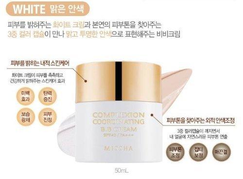 Missha Signature Complexion Coordinating BB Cream SPF43 PA+++ White (2013 New CC cream)