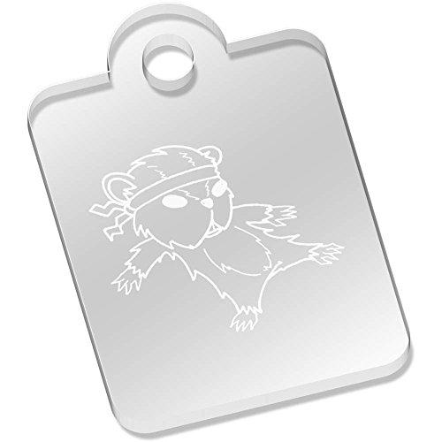 Azeeda 'Hámster de Kung Fu' Llavero (AK00002023)