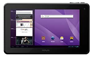 Odys Neo S 7 Plus 17,8 cm (7 Zoll) Tablet-PC (TFT Touchpanel, 1.6 GHz Dual Core, 1 GB RAM, 8 GB HDD, WLAN, HDMI, Android 4.1.x) schwarz