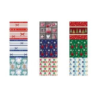 Susy Card 11384641servilleta, impreso en papel, plastificado, 3capas, diseño de regalo de Navidad, 33x 33cm, 20unidades), color verde