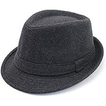 Thinkin Cappello in Feltro Invernale da Uomo in Feltro di Lana Vintage in  Feltro di Lana 2ca37ab3a040
