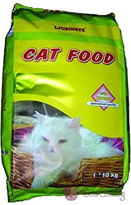 30kg Dry Adult Cat Healty Food Fish, Chicken Liver, Vegetables & Cheese. Natural Product by Ljubimetz, Bulgaria