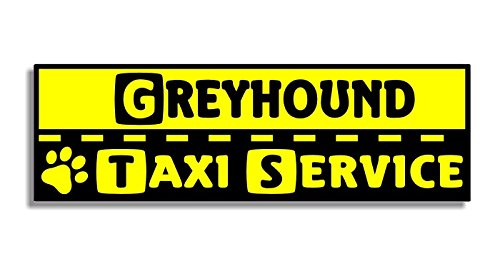 greyhound-taxi-service-car-bumper-sticker-auto-aufkleber-window-door-dog-hund-sign-decal