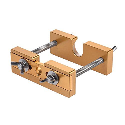 ammoon Professionelle Einstellbare Mundstück Puller-Remover-Werkzeug für Blechbläser Trompete Posaune Euphonium Horn Mundstück Gold