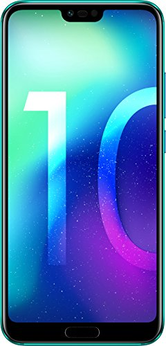 Honor 10 Smartphone (14,83 cm (5,84 Zoll), Full HD+ Touch-Display, 64GB interner Speicher, 4GB RAM, Phantom Grün - Deutsche Version