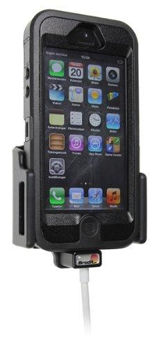 Brodit 514440 Kfz-Halterung mit Kabelanchluss für Apple iPhone 5/5S/5C/5SE (62-77/9-13mm) - 5s Otterbox-handy-fall Für