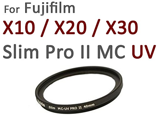 Neu: Haida Pro II Slim UV Digital MC - Spezialgröße 40mm für Fuji X10 / X20 / X30 - Inkl. passendem Objektivdeckel