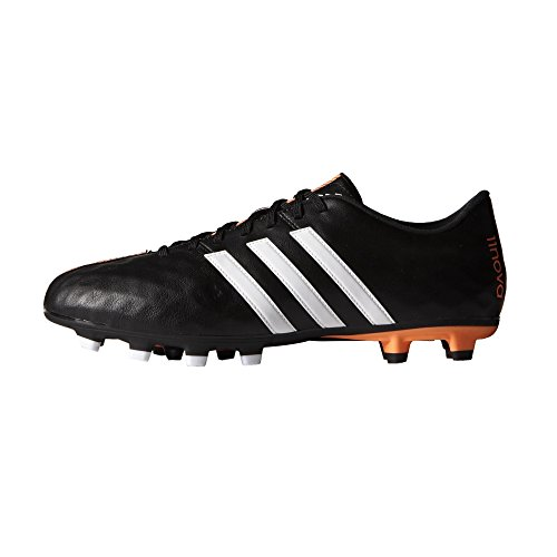 Preisvergleich Produktbild Adidas 11Nova FG Fussballschuhe core black-running white-flash orange 45 1/3