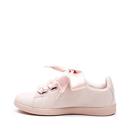 ... Ideal Shoes, Damen Sneaker Rose ...