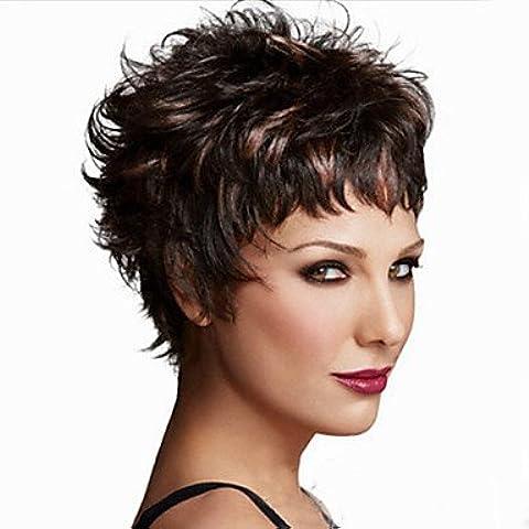 OOFAY JF ® la nuova Europa e in America deve ritardante capelli alta temperatura parrucca di filato di seta del volume breve birichino