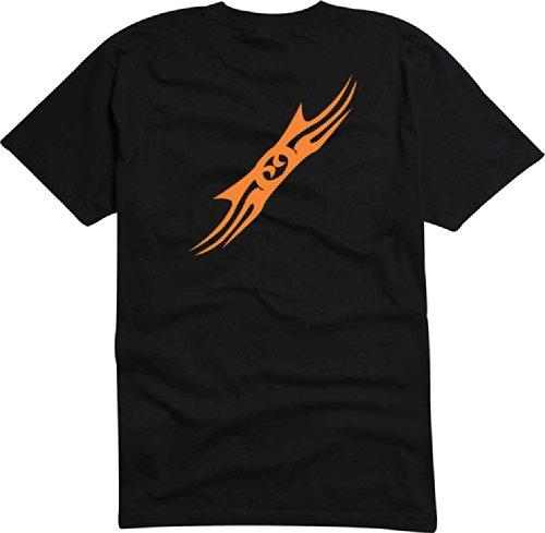 T-Shirt Herren Hurley feuer Schwarz