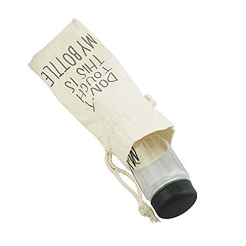 TOOGOO(R)MY BOTTLE Wasserflasche 500ML mit einer Stoff Tasche