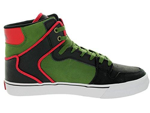 Supra Vaider chaussures noir vert rouge