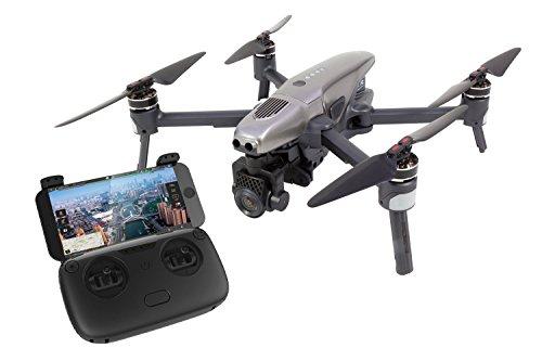 Walkera 15001000 Vitus Portable Quadrocopter RTF - FPV-Drohne mit 4K UHD-Kamera, Hinderniserkennung, GPS, Active Track, DEVO F8S-Fernsteuerung, Akku und Ladegerät