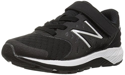 New Balance Kids Urge V2 Hook and Loop Road Running Shoe Black/Whit