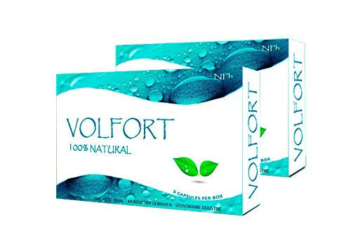 VOLFORT (10 Kapseln) Potenzmittel für Männer - natürliche Lust - und Libidosteigerung - Leistungsstark - 100% natürlich und pflanzlich