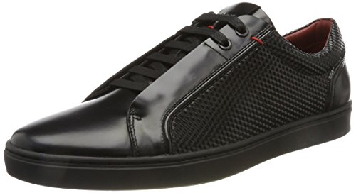 Hugo Post_Tenn_ltem, Sneakers Basses Homme, Noir Noir (Black)