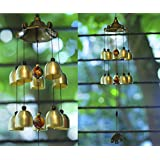 PARADIGM PICTURES Feng Shui Wind Chime for Bedroom Brass Bell Chimes for Home Positive Energy Balcony