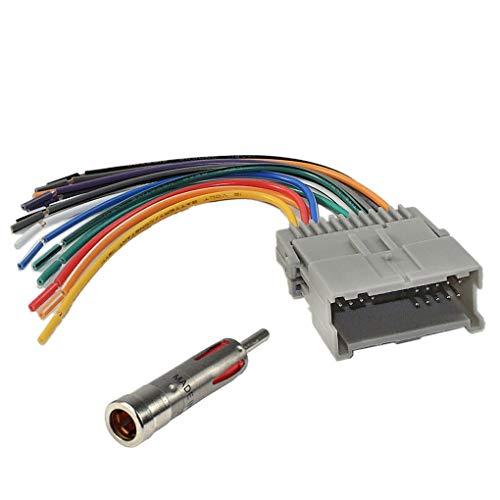Provide The Best Car Stereo Radio Faisceau de câblage de Remplacement Adaptateur d'antenne pour Buick Lacrosse GM-2005-2009 1416 GM-A36