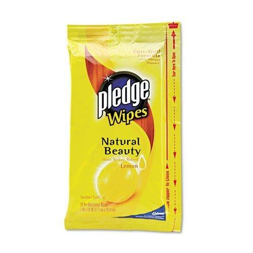 pledge-lemon-scent-wet-wipes-cloth-7-x-10-white-24-pack-12-carton-by-pledge