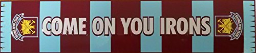 West Ham bufanda muestra