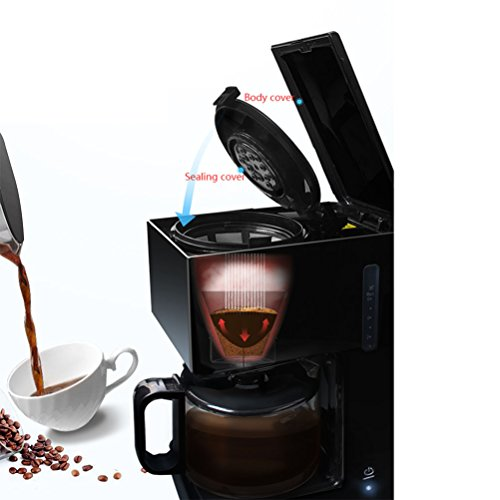 Q-Zooy Intelligent Automatic Coffee Maker Household American Hourglass One Machine