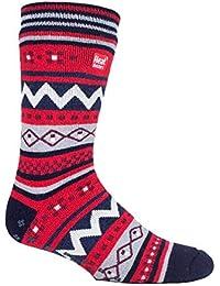 HEAT HOLDERS - Hombre invierno caliente gruesos termicos calcetines antideslizantes estar por casa