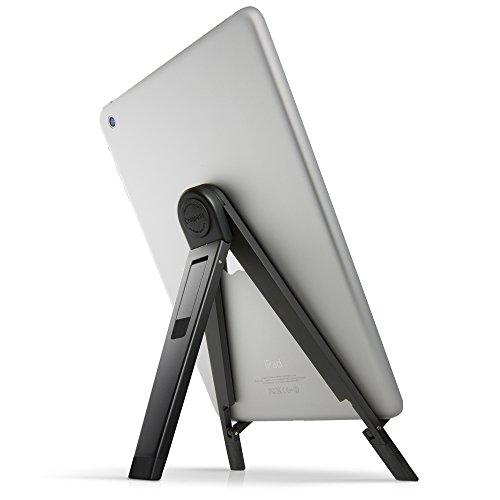 Twelve South Compass 2 für iPad, Schwarz | Mobiler Displayständer mit Schreibwinkel für iPad Pro / iPad Air / iPad mini -