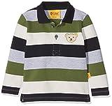 Steiff Baby-Jungen Poloshirt 1/1 Arm, Mehrfarbig (Y/d Stripe|Multicolored 0001), 68
