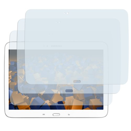 3x mumbi Displayschutzfolie Samsung Galaxy Tab 3 (10,1 Zoll) Schutzfolie